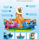 New Design Patent Monkey King Play Équipement d'attractions mécaniques à l'eau pour enfants