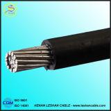 Al 6.35/11kv/XLPE padrão do IEC 60502/cabo ABC do PVC