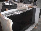 De opgepoetste Zwarte Tegel van de Steen van het Graniet Shanxi voor het Vloeren en het Bedekken