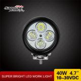 """Luz de conducción del CREE LED 4WD del redondo 40W impermeable 4.7 """""""