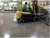 Laser vermelho da zona do Forklift - luz de advertência verde de zona de perigo