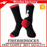 Mann-Frauen-Baumwolle Terry Sports Socken mit Senkfußeinlage