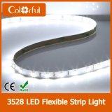 Dekoration, die wasserdichtes flexibles DC12V SMD3528 LED Streifen-Licht beleuchtet