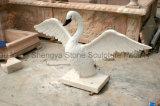 Animal de pierre de sculpture en marbre de statue de marbre