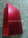 Balayé/banc de tréfilage anodisé dans le profil en aluminium rouge d'extrusion