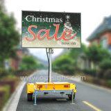 ボードの価格を広告する屋外の携帯用フルカラーの表示VmsトレーラーLED
