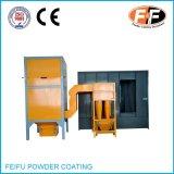 Cabina di spruzzo manuale del rivestimento della polvere con il riciclaggio del ciclone