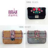 Выдвиженческий мешок женщин повелительницы PU вышитый сумок миниый (NMDK-01425)