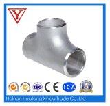 T dell'acciaio inossidabile, petrolio ed accessori per tubi del gas