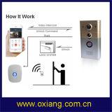 ホームセキュリティーのリモートはHD WiFiのビデオドアの電話をロック解除する