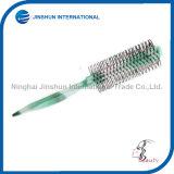 El cilindro de la manera del salón señaló el cepillo plástico del peine del pelo de la cola