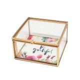 Contenitore di monili di vetro del regalo di qualità di Hight Jb-1068