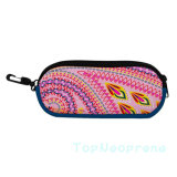 Embalagem personalizada Hard Neoprene Leather Eyeglass Glasses Sunglass Case
