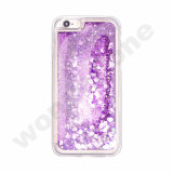 líquido luxuoso creativo Case&#160 da faísca do Glitter de 3D Bling; para o iPhone 6s