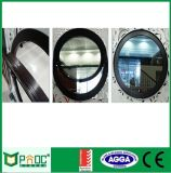 Indicador circular do único perfil de alumínio de vidro com certificado do ISO