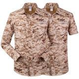 Рубашка Быстро-Засыхания камуфлирования людей напольная Breathable