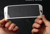 Kohlenstoff-Faser-ausgeglichenes Glas-Ganzseitenschoner für iPhone 7