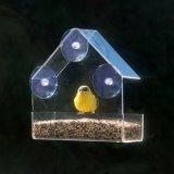Qualitäts-kundenspezifischer Dreieck-Fenster-Raum-Acrylvogel-Zufuhr
