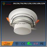 El precio bajo 18W LED de la alta calidad abajo se enciende