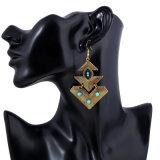 De Boheemse Juwelen van de Oorring van de Tegenhanger van de Manier van de Oorring van de Klem van Parels Uitstekende