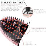O Straightener da escova de cabelo com o indicador do LCD eletrônico Anti-Escalda Strainghtener cerâmico