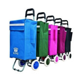 Funky Lightweight Hard Wearing Foldable Push Carrt Store Shopping Trolley