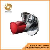 """Cromo válvula de ângulo de bronze do polonês 1/2 """" feita em China"""