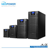 1kVA 800W het Rek van de Enige Fase 220V zet AC Online UPS op
