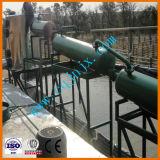 Diesel van de kwaliteit Pyrolyse van de Zwarte Raffinage van de Olie van de Motor van de Motor van het Afval