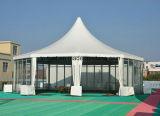 Barraca do hexágono da forma de Ridge para o partido do evento do casamento da exposição