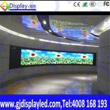 Indicador de diodo emissor de luz transparente magro do banco Rental ao ar livre do hotel do partido de HD para a utilização ao ar livre