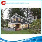 Edificio movible de acero ligero del tablón