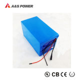 Bateria de íon de lítio recarregável do bloco 50ah da bateria 24V 18650 para a bicicleta elétrica