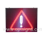 Segno di traffico stradale dinamico esterno della visualizzazione LED del messaggio VM di colore completo di alta qualità