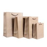 OEM de reciclaje bolsas con asa de la bolsa de papel