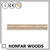 Materiales de construcción de madera MDF imprimado molduras de corona