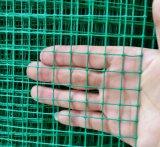 Engranzamento de fio soldado revestido plástico do PVC para fazer a armadilha do caranguejo