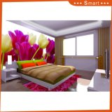 Het hete Verkoop Aangepaste 3D Olieverfschilderij van het Ontwerp van de Bloem voor de Decoratie van het Huis (modelleer Nr.: Hx-5-072)