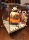 Étalage acrylique neuf de mémoire pour Star Wars