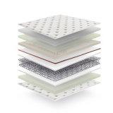 7) resorte del acero de alto carbón y colchón natural del látex para el hogar o el hotel #Fb732