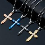 Вероисповедный католический шкентель креста нержавеющей стали людей способа ювелирных изделий