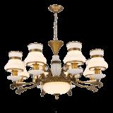 2017大理石および水晶(SL2272-6)が付いている新しいデザインシャンデリアの照明ランプ