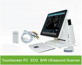Pequeño explorador barato del ultrasonido de la pantalla táctil ECG del vector
