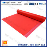 Underlayment vendedor caliente de la espuma de EVA con la película roja del PE (EVA30-4)