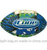 Fabricantes que venden PVC1-9 el balompié cosido a máquina inglés modificado para requisitos particulares, balompié de la PU, bola de rugbi