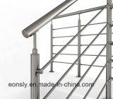 Supporto della barra dei montaggi della crociera dell'acciaio inossidabile per il corrimano dell'inferriata
