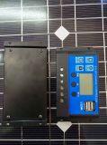 10A 20A 30A PWM Solarladung-Controller/WegRasterfeld Systems-Solarregler mit USB 2