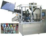 Relleno del tubo y máquina completamente automáticos del lacre