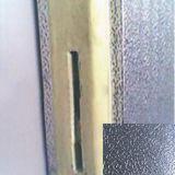 """Panneau """"sandwich"""" en aluminium gravé en relief d'unité centrale de polyuréthane pour la pièce d'entreposage au froid"""