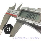 18m m botón de la aleación del metal de 4 orificios para los accesorios de la ropa